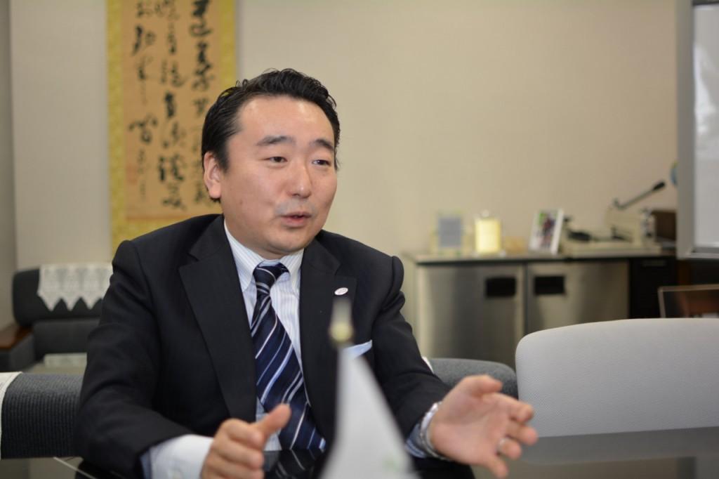 日本自動ドア株式会社 吉原二郎 氏