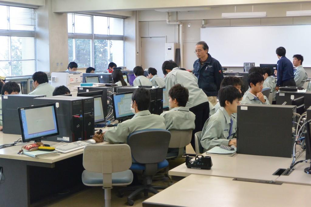 授業風景 新座総合技術高校