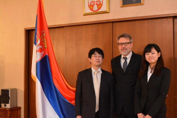 セルビア大使館 インタビュー (2)