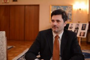 セルビア大使館 マキッチ・ジョルジェ参事官