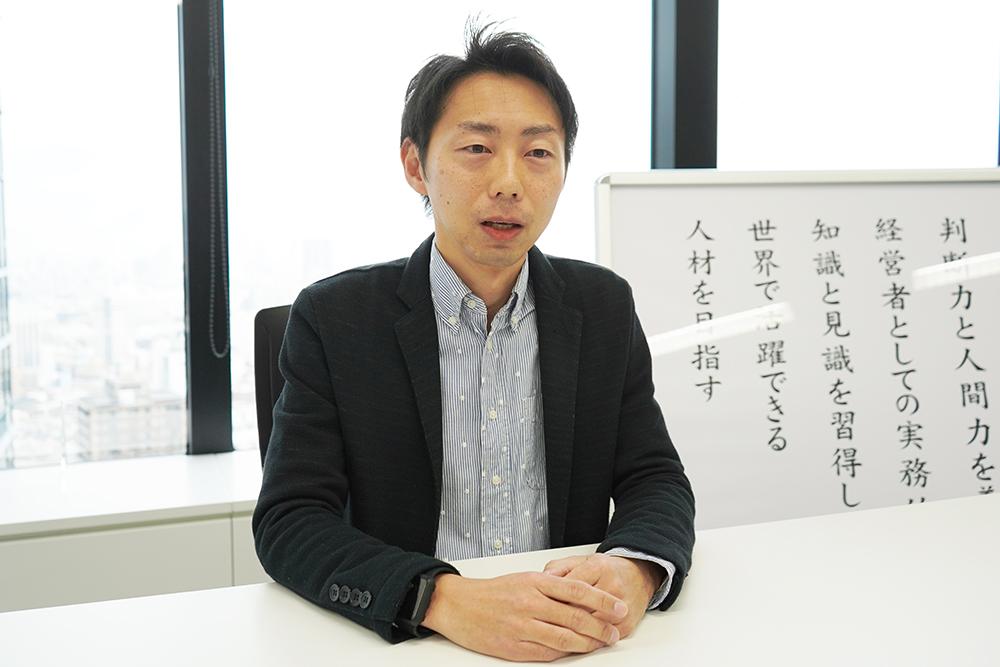 澤田経営道場 事務局長 渡邉拓斗氏